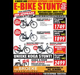 E-Bike stuntweek