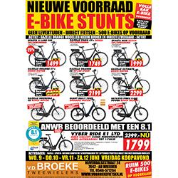 Juni | Nieuwe voorraad én e-bike stunts!