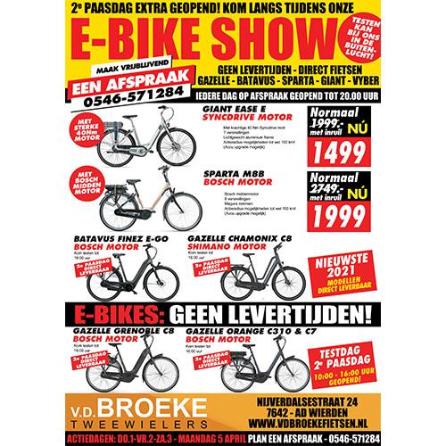 E-bike show pasen